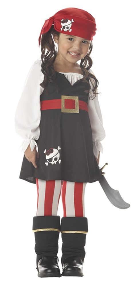 Picture of Precious Lil Pirate Toddler Costume