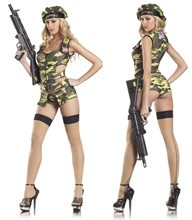 Picture of Army Brat Sexy Adult Womens Costume