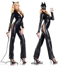 Picture of Catwoman Two-Faced Adult Costume