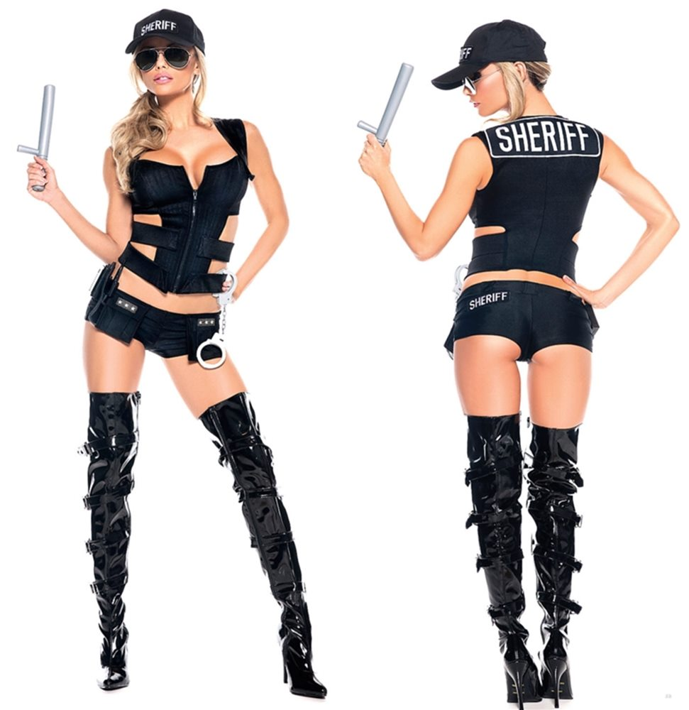 Picture of Sheriff Sexy Adult Womens Costume