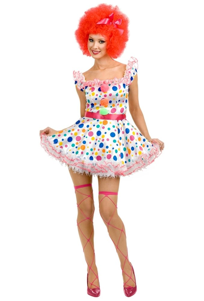 Picture of Clowning Around Adult Womens Costume