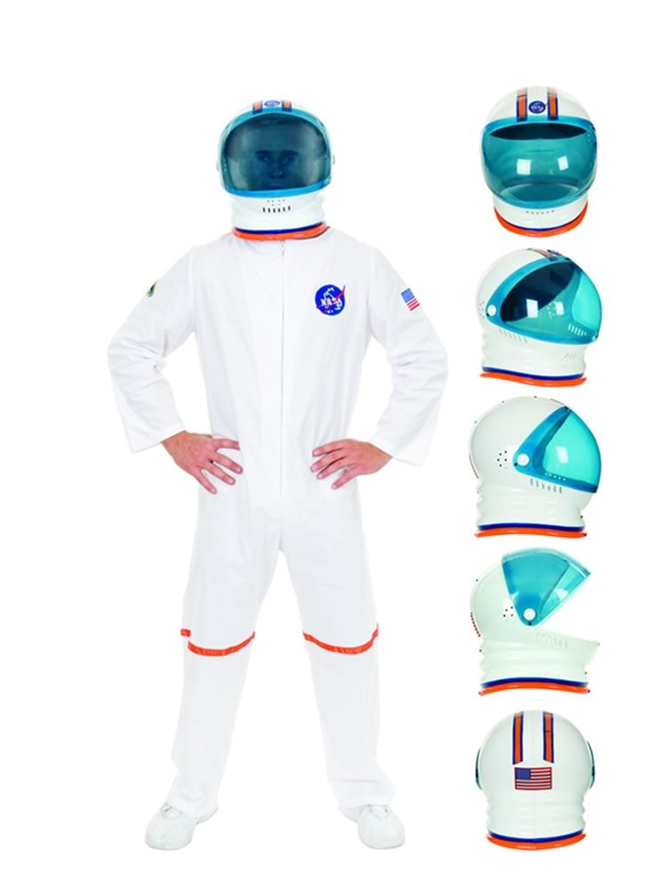 Picture of Space Helmet White