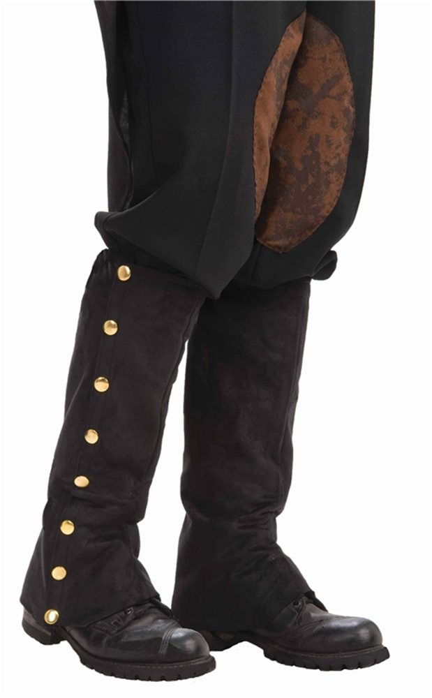 Picture of Steampunk Spats Black