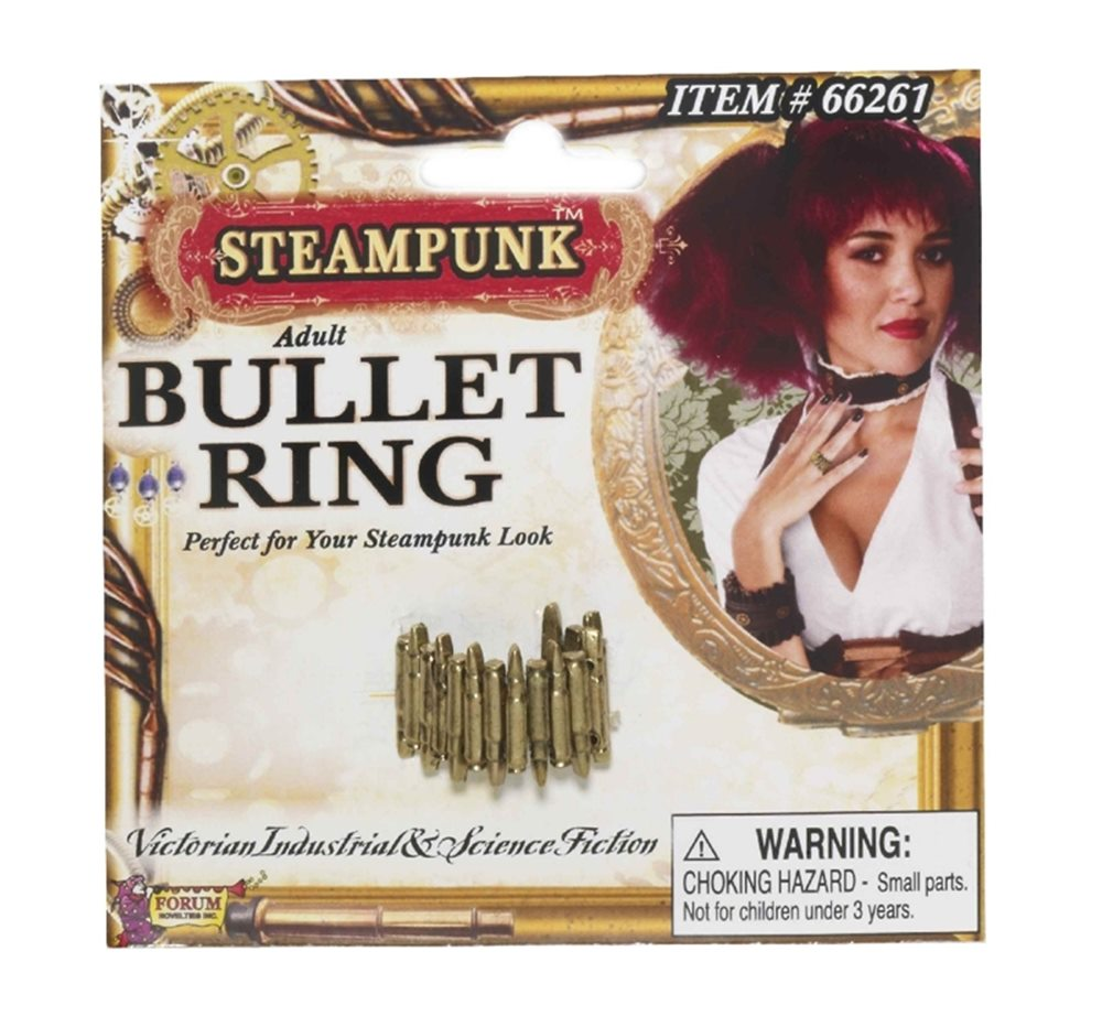 Picture of Steampunk Bullet Ring
