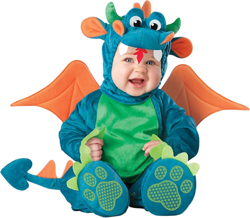 Picture of Dinky Dragon Baby Costume