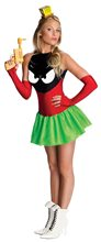Picture of Marvin the Martian Dress Adult Costume