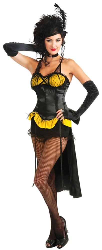 Picture of Burlesque Showgirl Gold Adult Womens Costume