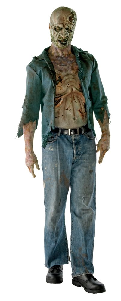 Picture of The Walking Dead Zombie Adult Mens Costume
