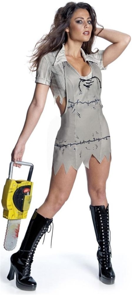 Picture of Texas Chainsaw Massacre Miss Leatherface Adult Costume