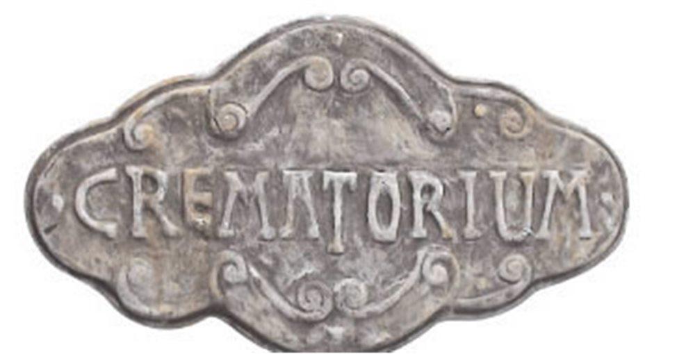 Picture of Crematorium Sign