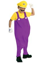 Picture of Deluxe Mario Brothers Wario Child Costume