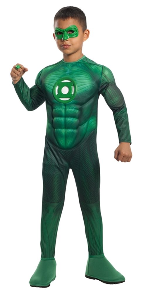 Picture of Green Lantern Muscle Deluxe Toddler & Child Costume
