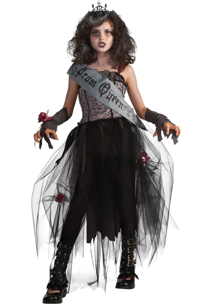 Picture of Goth Prom Queen Child Costume