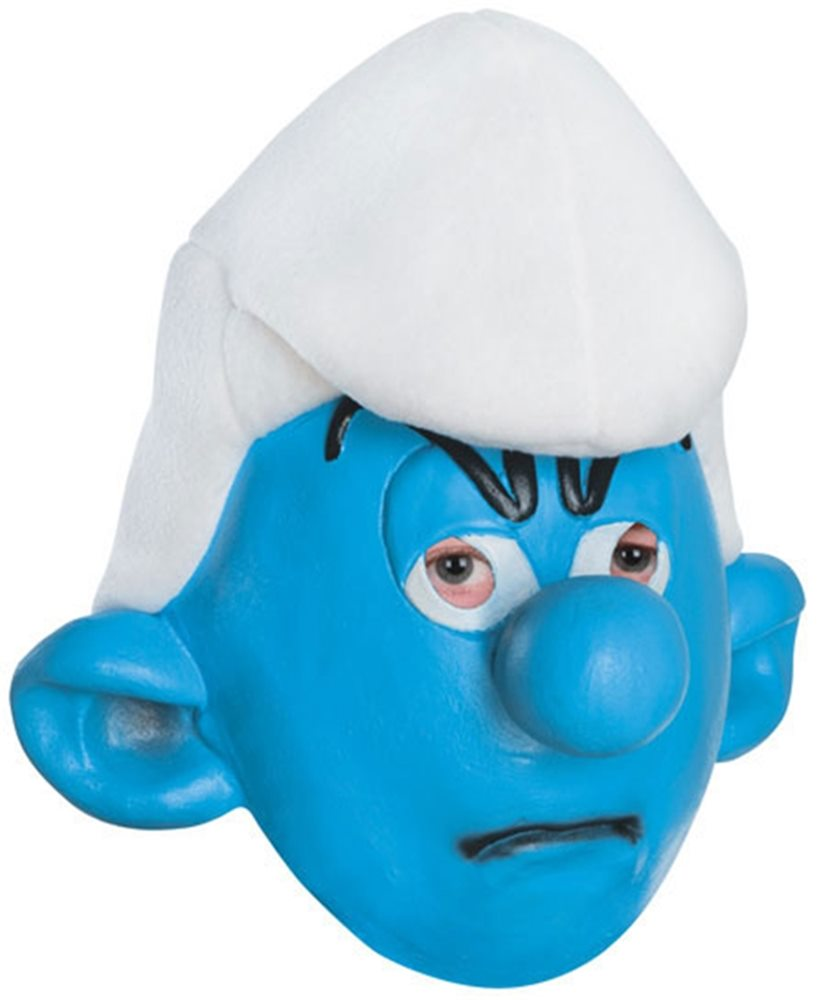 Picture of The Smurfs Grouchy Adult Mask