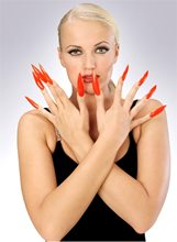 Picture of Sculptured Horror Fingernails