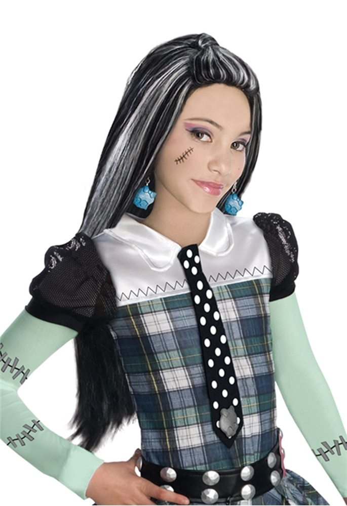Picture of Monster High Frankie Stein Wig