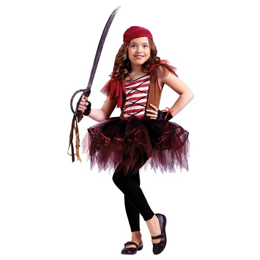 Picture of Ballerina Pirate Child Costume