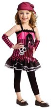 Picture of Rockin Skull Pirate Toddler Costume