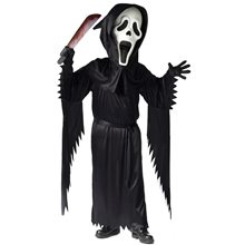 Picture of Bobble Head Ghost Face Adult Costume