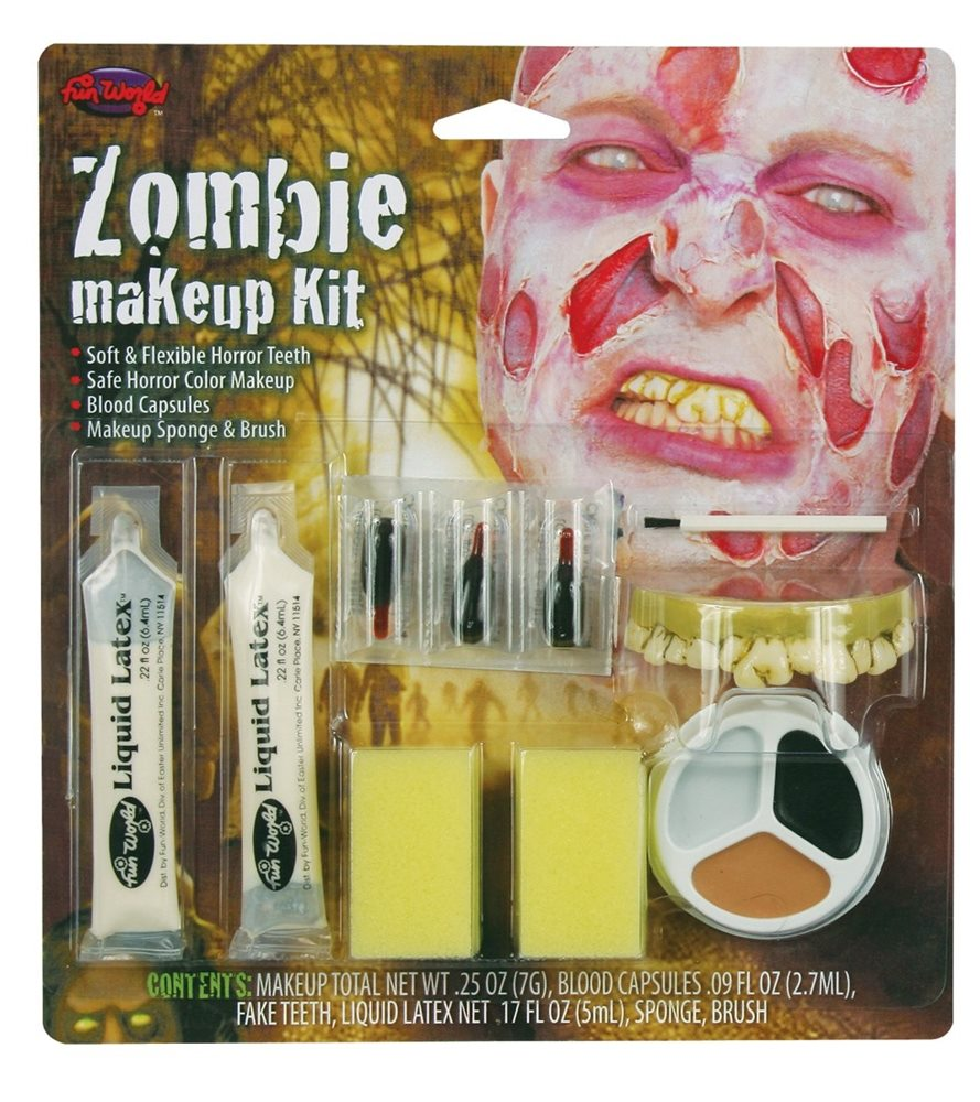 Picture of Zombie Makeup Kit