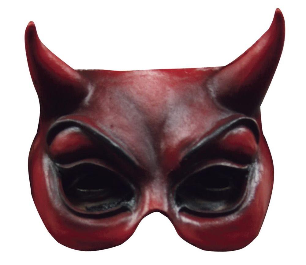 Picture of Devil Adult Half Mask