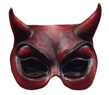Picture of Devil Adult Half Mask