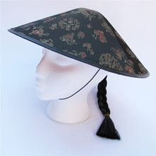 Picture of Coolie Adult Hat with Hair