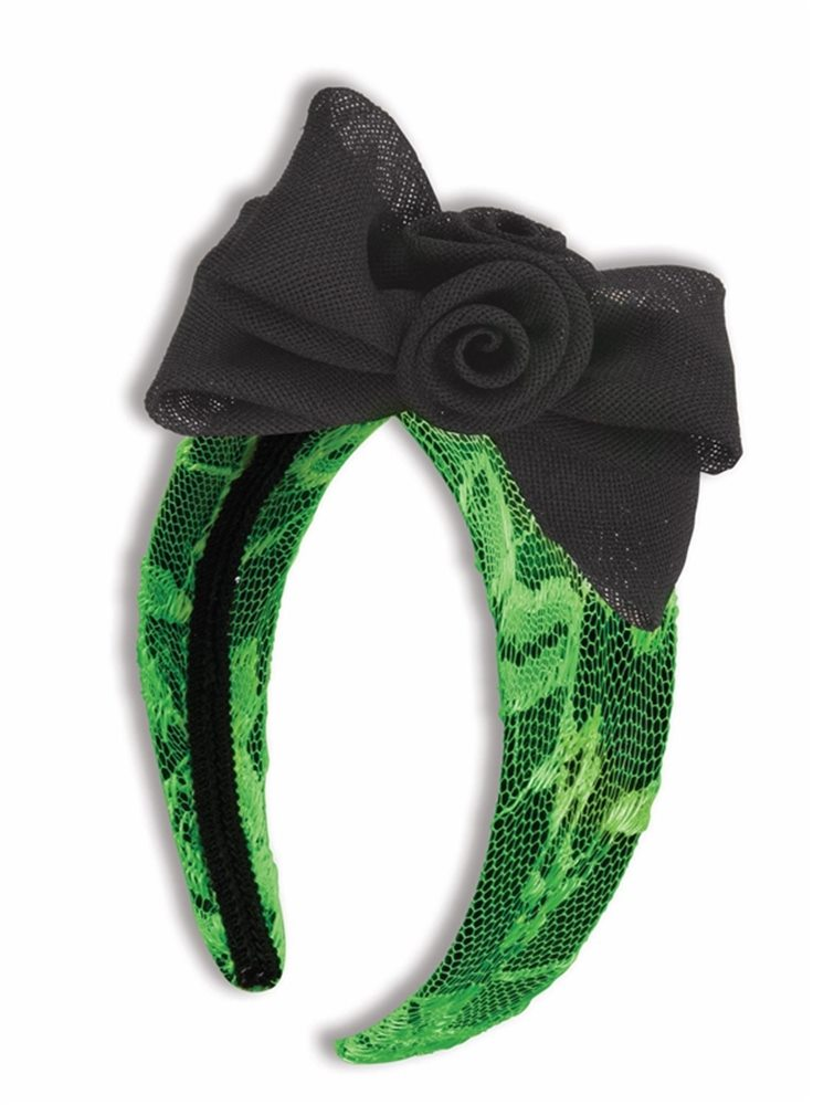Picture of Neon Green Headband with Bow