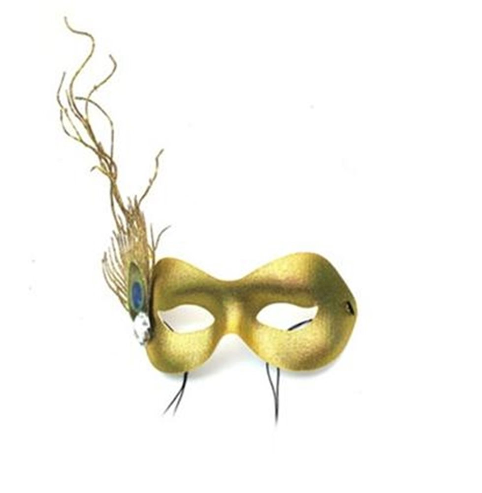Picture of Sprite Gold Masquerade Adult Mask