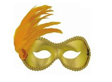 Picture of Gold Ballroom Adult Mask