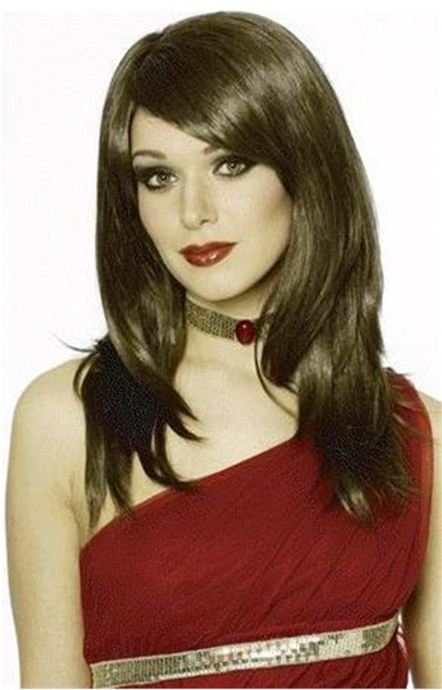 Picture of Brown Sharon Adult Wig