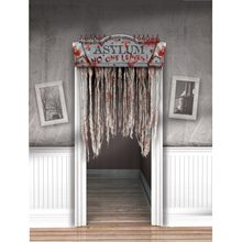 Picture of Asylum Bloody Doorway Curtain