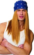 Picture of Rocker Adult Wig with Bandana