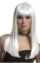 Picture of Platinum Mademoiselle Adult Wig