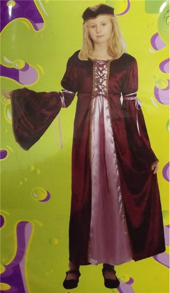 Picture of Renaissance Princess Child Costume