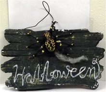 Picture of Spider Halloween Sign