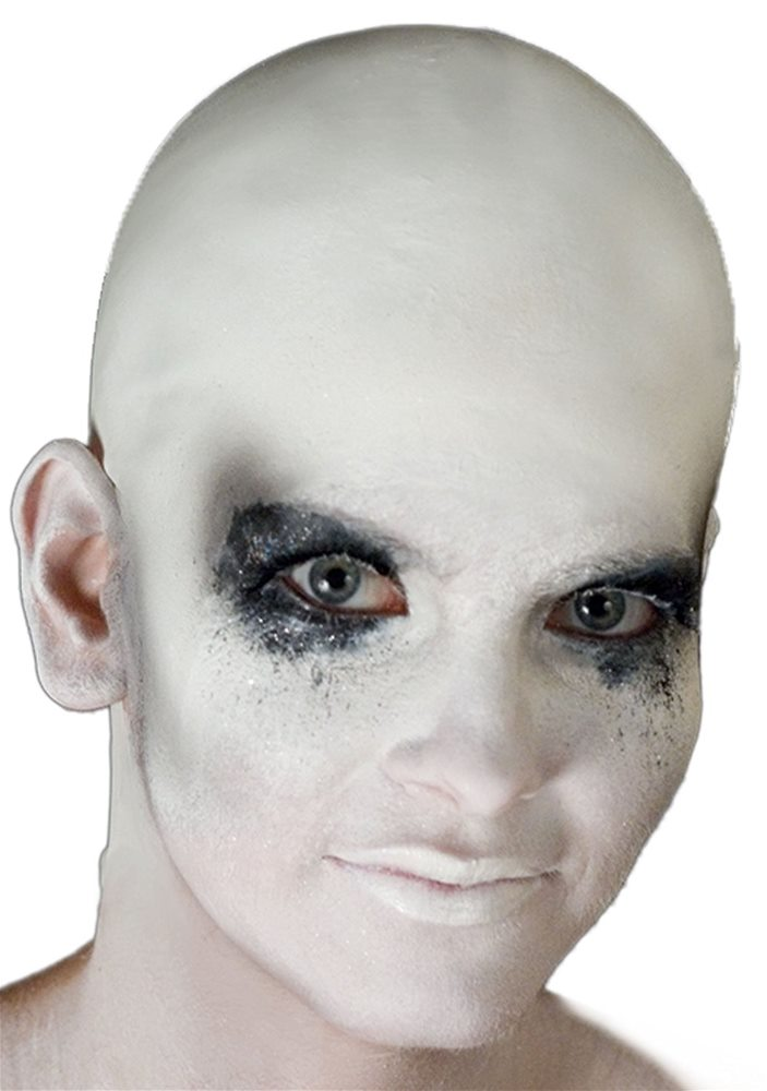 Picture of White Bald Cap