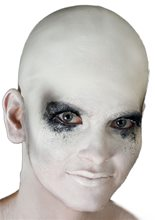 Picture of White Bald Cap