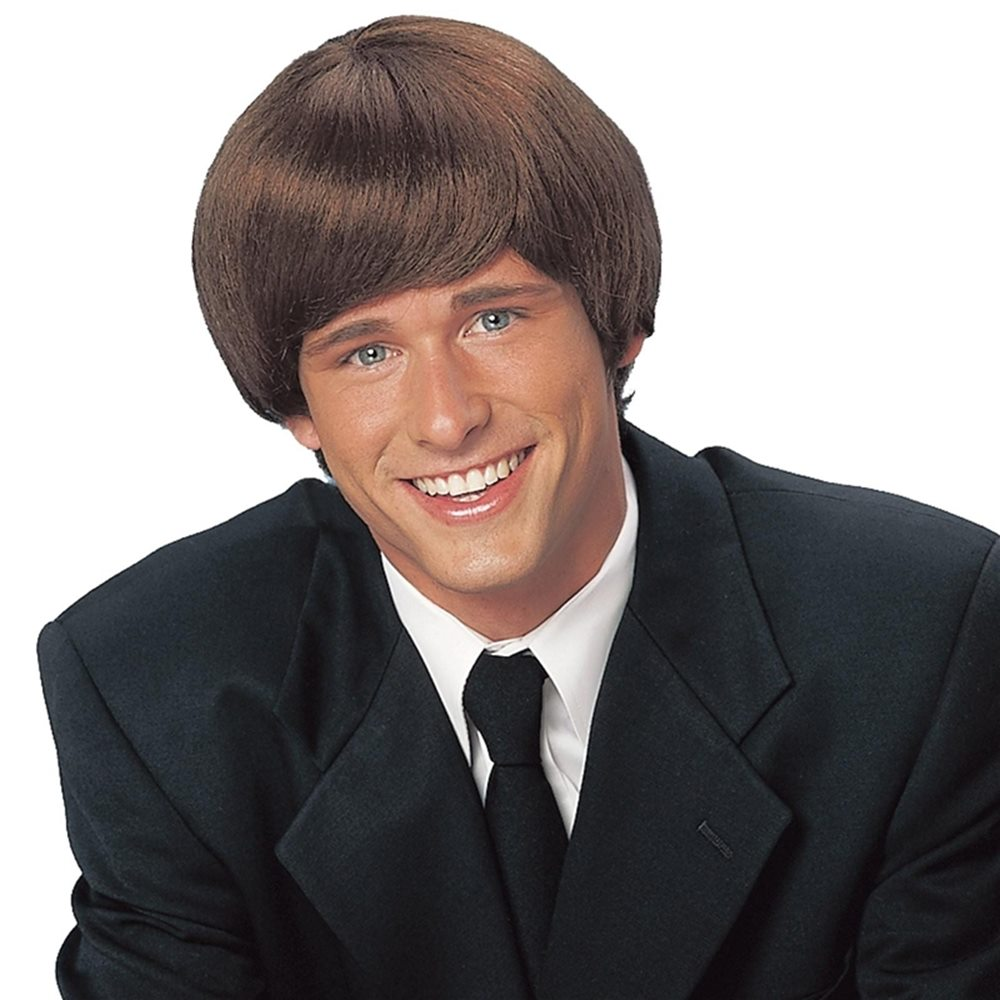 Picture of Brown 60s Mod Adult Wig