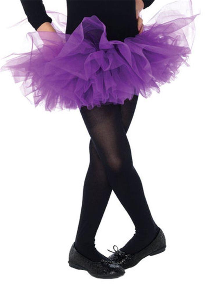 Picture of Purple Organza Child Tutu