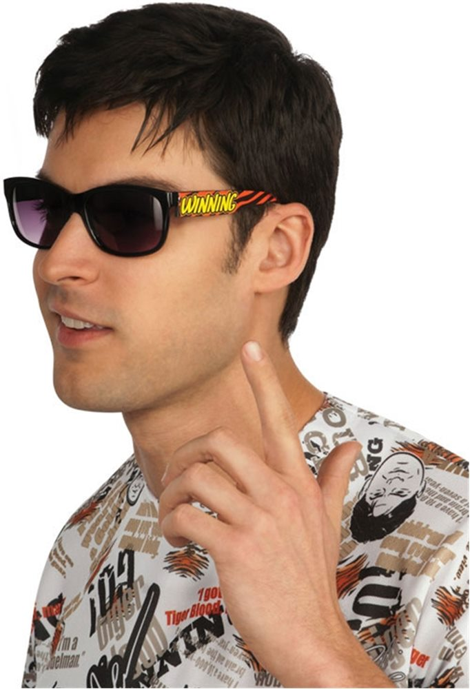 Picture of Charlie Sheen Sunglasses