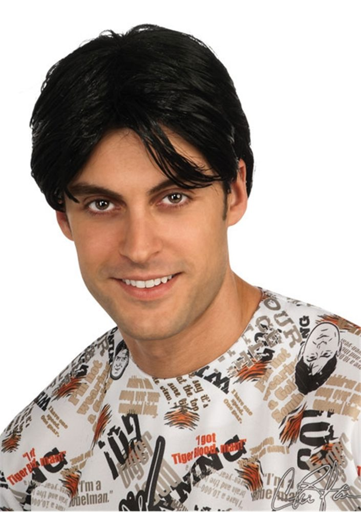 Picture of Charlie Sheen Adult Wig