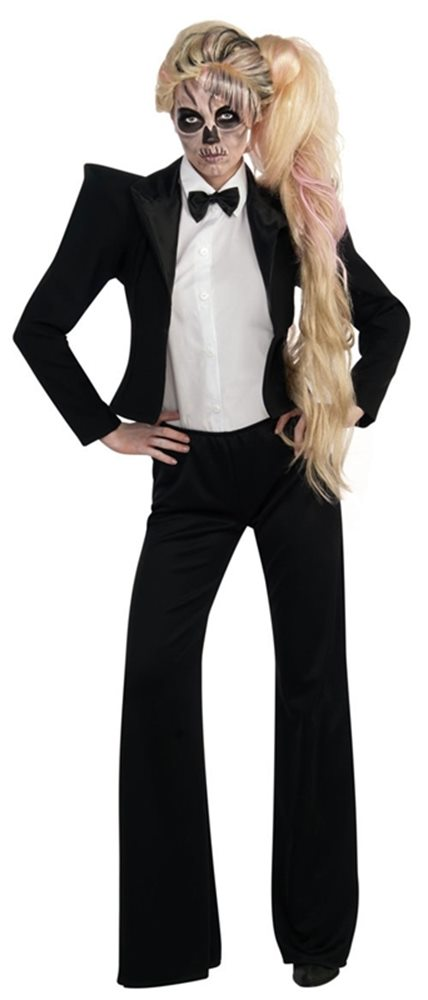 Picture of Lady Gaga Tuxedo Adult Womens Costume