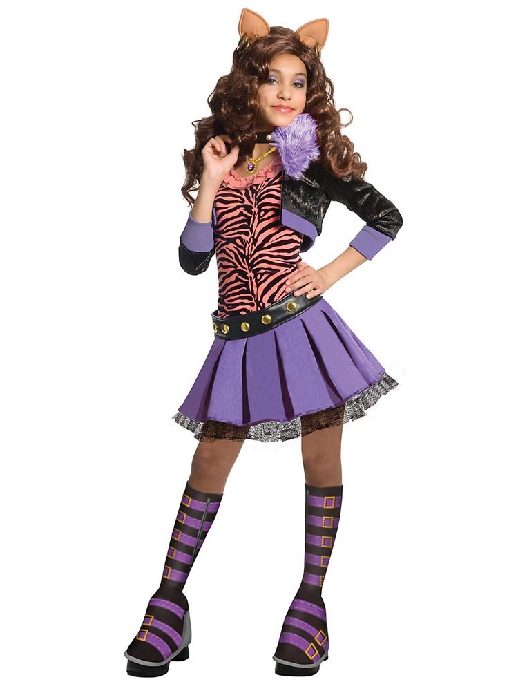 Picture of Monster High Deluxe Clawdeen Wolf Child Costume