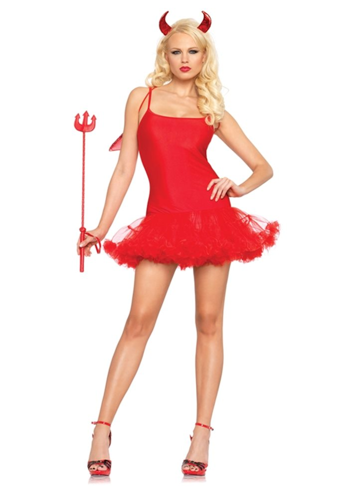 Picture of Red Petticoat Adult Womens Dress
