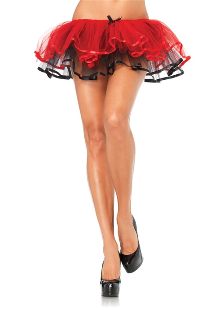 Picture of Red and Black Reversible Tutu