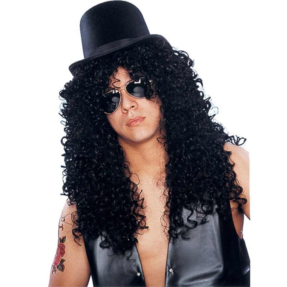 Picture of Deluxe Curly Rocker Wig