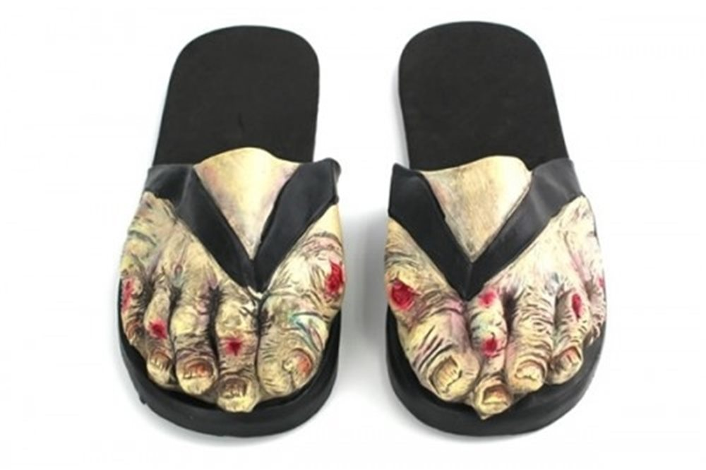 Picture of Female Zombie Feet Sandals