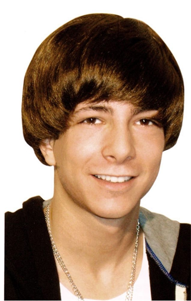 Picture of Justin Bieber Teen Star Wig