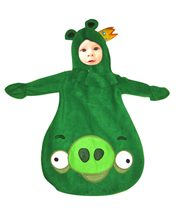 Picture of Angry Birds King Pig Infant Costume